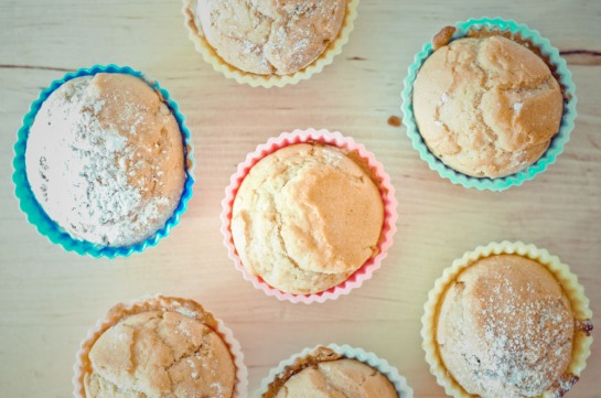 muffins limone e noci
