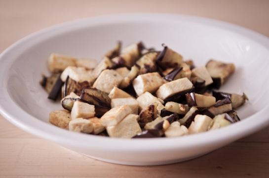 tofu e melanzane