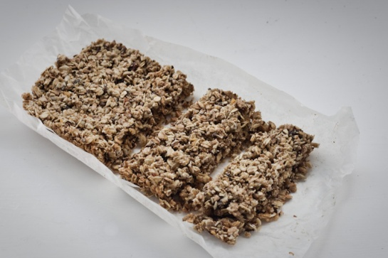 vegan muesli bar