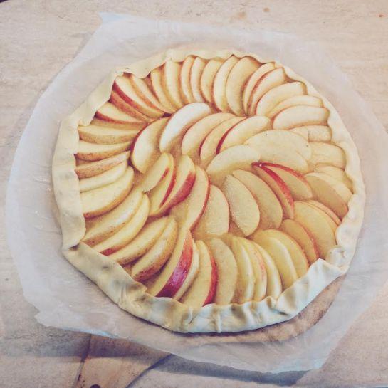 crostata di mele brisé