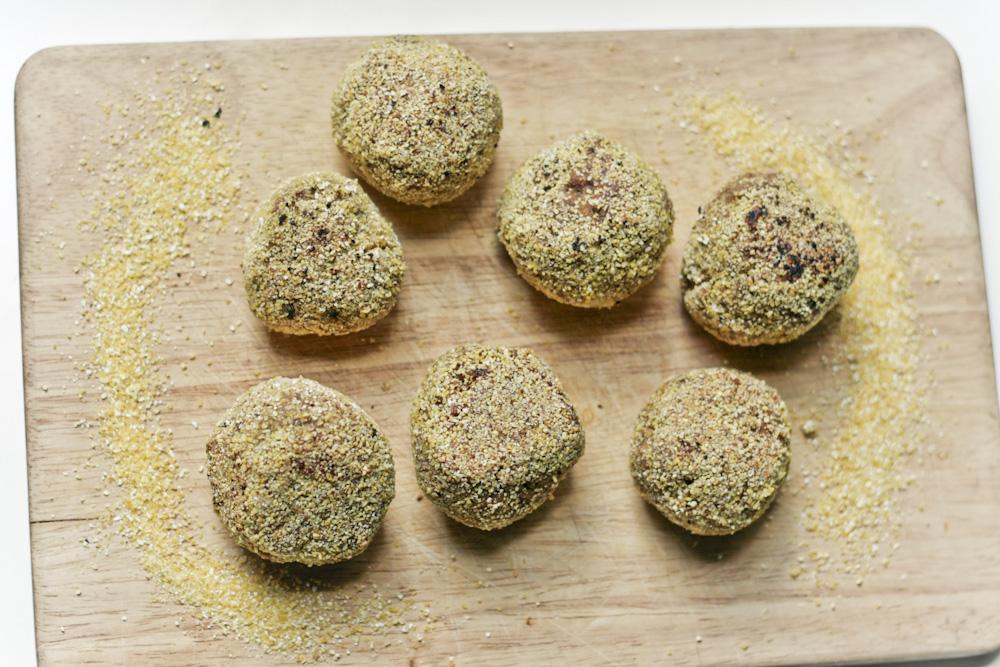 polpette vegan quinoa melanzane (3 di 5)