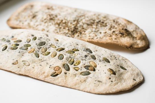 crackers ai semi senza lievito
