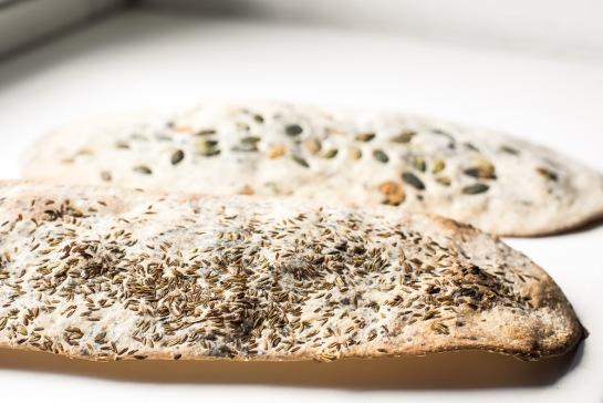 crackers ai semi senza lievito-3