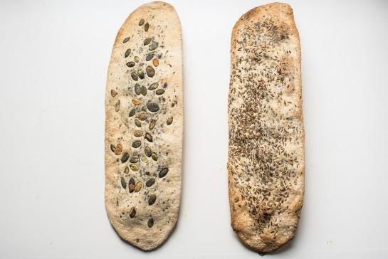 crackers ai semi senza lievito-4