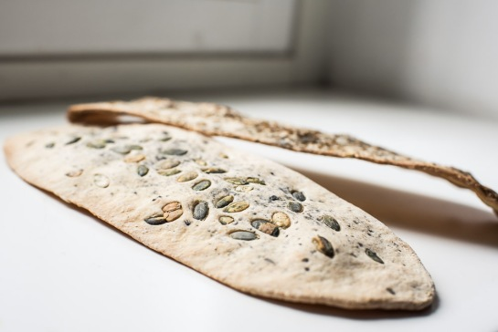 crackers ai semi senza lievito-6