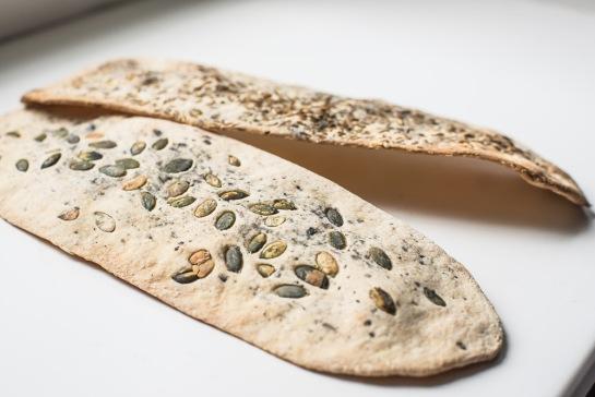 crackers ai semi senza lievito-7